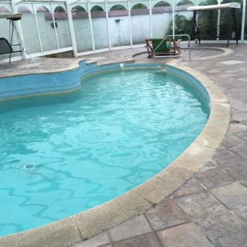 Swimming Pool Before